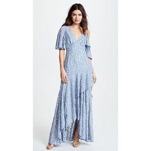 NEW! RARE Talulah Ardency Blue Floral Maxi Dress